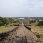 Vue depuis le sommet du temple.