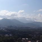 Vue depuis le Mont Phu Si.