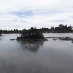 """Une des raisons pour laquelle l'île du nord est appelée """"the smoking island""""."""