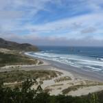 Sandfly bay, dans la péninsule d'Otago.