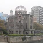 Le Dôme, laissé inchangé depuis la bombe.