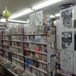 A Jimbosho, voici une toute petite partie d'une librairie gigantesque (5 étages pleins à ras bord).