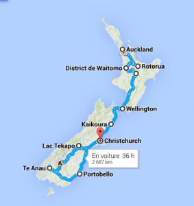 Trajet NZ