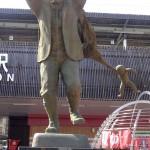 Statue près de la gare de Beppu en honneur du vieil oncle qui aimait tant les enfants...
