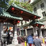 La porte du dragon marque l'entrée du Chinatown de San Francisco.