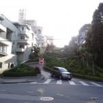 Lombard Street, la rue la plus tordue du monde.