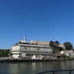 Arrivée à Alcatraz.