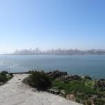 Vue de San Francisco depuis Alcatraz. Si proche et pourtant si loin pour les prisonniers de l'époque.