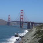 Pour quitter San Francisco, on est passé par la grande porte : le Golden Gate.