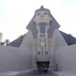 et sphinx sont voisins à Las Vegas.