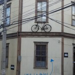 Un vélib à Valparaiso.