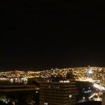 Les lumières scintillantes de Valparaiso.