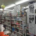 On trouve bien plus de mangas au Japon qu'en France, ils sont lus à tout âge.