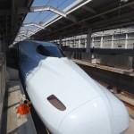 Le shinkensen, l'équivalent ponctuel du TGV.