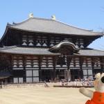 Tôdai-ji, un temple bouddhiste de Nara.