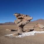 """El Arbol de Piedra"" (l'arbre de pierre), un des monuments naturels principaux de Los Lipez."