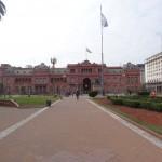 La Casa Rosada, l'Elysée argentin.