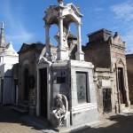 Quelques uns des mausolées du cimetière de la Recoleta.