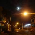 Arrivée à Puerto Iguazu sous la pleine lune.