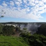 Vue sur les chutes coté brésilien.