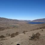 Près de l'horizon, ce lac a des allures de mirage dans ces régions quasi désertiques.