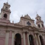 La cathédrale de Salta.