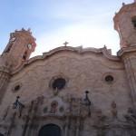 L'imposante cathédrale de Potosi.
