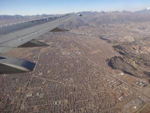 C'est donc en avion qu'on a rejoint La Paz.