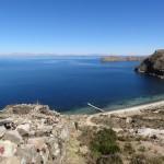 Une plage de l'Isla del Sol.