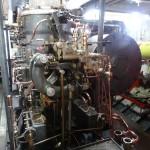 A l'origine, le moteur fonctionnait au crottin de lama (pénurie de charbon oblige).