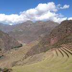 Les terrasses incas de la vallée de Pisac.