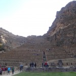 La forteresse d'Ollantaytambo.