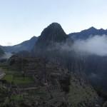 Le Machu Picchu peu avant l'aube.