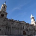 La cathédrale d'Arequipa.