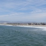 Los Angeles: ses plages et ses immeubles.