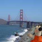 Le pont du Golden Gate a été jusqu'en 1964 le pont suspendu le plus long du monde.
