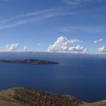 Le plus haut lac navigable du monde : le lac Titicaca.