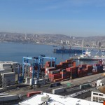 Le port de Valparaiso.