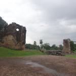 Les ruines du vieux Panama.