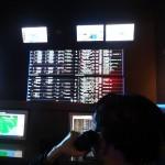 Après m'être infiltré, j'ai pu prendre cette photo du poste de contrôle de l'écluse (en réalité, c'est un mannequin devant un PC bidon).