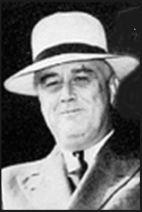 Résultats de recherche d'images pour «photo de roosevelt avec le chapeau du panama»