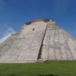 La pyramide d'Uxmal.