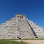 La fameuse pyramide de Kukulcán.